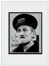 Stephen Lewis Autograph Signed Photo - On The Buses